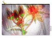 11305 Flower Abstract Series 03 #5 Carry-all Pouch
