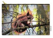 11451 Red Squirrel Sketch Carry-all Pouch