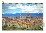 1166 Florence Italy Carry-all Pouch