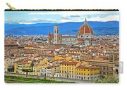 1167 Florence Italy Panorama Carry-all Pouch