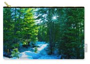 Nature Art Landscape Canvas Art Paintings Oil Carry-all Pouch