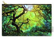 12 Abstract Japanese Maple Tree Carry-all Pouch