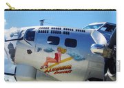 B-17 Bomber Nose Art Carry-all Pouch