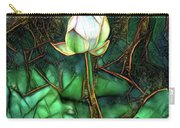 Jeweled Water Lilies Carry-all Pouch