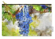 Red Grapes On The Vine Carry-all Pouch