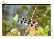 12 Spotted Skimmer Dragonfly 2 Carry-all Pouch