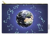 12 Zodiac Constellations Carry-all Pouch