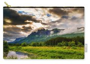 Nature Pictures Of Oil Paintings Landscape Carry-all Pouch