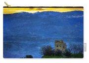 Nature Oil Canvas Landscape Carry-all Pouch