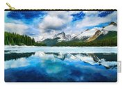 Nature Landscape Oil Painting For Sale Carry-all Pouch