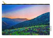 Nature Oil Canvas Landscape Carry-all Pouch
