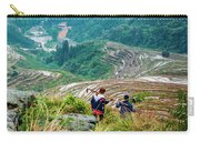 Longji Terraced Fields Scenery Carry-all Pouch