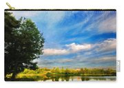 Nature Landscape Painting Carry-all Pouch