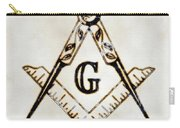 Ancient Freemasonic Symbolism By Pierre Blanchard Carry-all Pouch