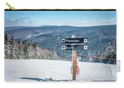 Beautiful Nature And Scenery Around Snowshoe Ski Resort In Cass  Carry-all Pouch