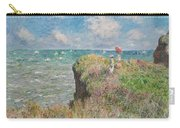 Cliff Walk At Pourville Carry-all Pouch