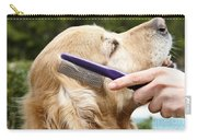 Dog Grooming Carry-all Pouch by Photo Researchers Inc