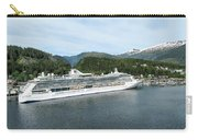 ketchikan alaska downtown of a northern USA town Carry-all Pouch