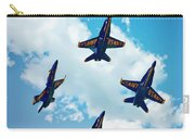 Navy Blue Angels Carry-all Pouch