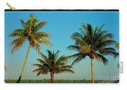 13- Palms In Paradise Carry-all Pouch