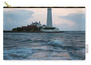 Saint Mary's Lighthouse At Whitley Bay Carry-all Pouch