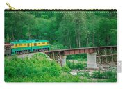 Scenic Train From Skagway To White Pass Alaska Carry-all Pouch