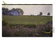 1300 - Fireflies And The House On Hillside Carry-all Pouch