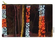 Christmas Season Decorations And Lights At Gardens Carry-all Pouch