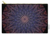 Kaleidoscope Image Created From Light Trails Carry-all Pouch