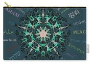 Peace All Over The World Carry-all Pouch