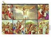 14 Stations Of The Cross Carry-all Pouch