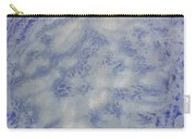 14. V1 Blue And White Splash Glaze Painting Carry-all Pouch