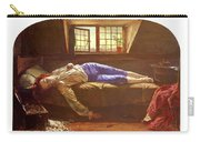 Wallis Henry The Death Of Chatterton Henry Wallis Carry-all Pouch