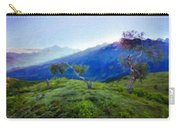 Nature Landscape Oil Painting On Canvas Carry-all Pouch