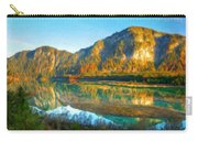Nature Original Landscape Painting Carry-all Pouch