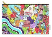 143 - Faces 2 Carry-all Pouch