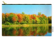 Landscape Drawing Nature Carry-all Pouch