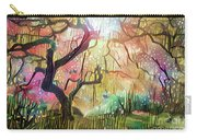 15 Abstract Japanese Maple Tree Carry-all Pouch