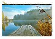 Acrylic Landscape Painting Carry-all Pouch