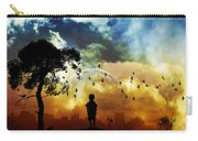Artistic Carry-all Pouch