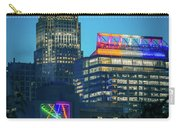 Charlotte North Carolina Cityscape During Autumn Season Carry-all Pouch