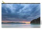 Cloudy Sunrise Seascape Carry-all Pouch