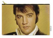 Elvis Presley, Rock And Roll Legend Carry-all Pouch