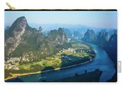 Karst Mountains And Lijiang River Scenery Carry-all Pouch
