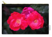 Knockout Roses Painted  Carry-all Pouch