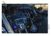 Motorcycles On Main Carry-all Pouch
