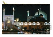 The Shah Mosque Famous Landmark In Isfahan City Iran Carry-all Pouch