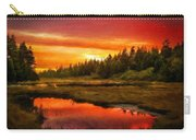 Landscape On Nature Carry-all Pouch