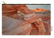First Light On Valley Of Fire Carry-all Pouch
