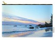 Rocky Daybreak Seascape Carry-all Pouch